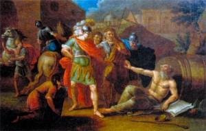 Притча о Диогене и Македонском