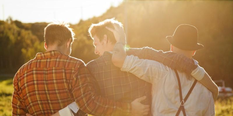 Дружба, радость за друга, поддержка друга